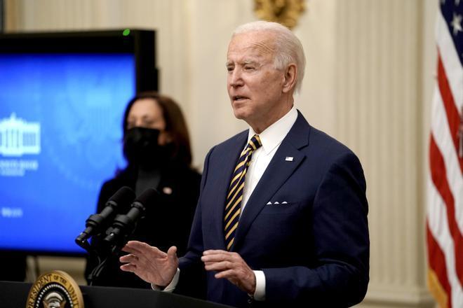 Biden busca aliviar con políticas progresistas el azote económico de la pandemia