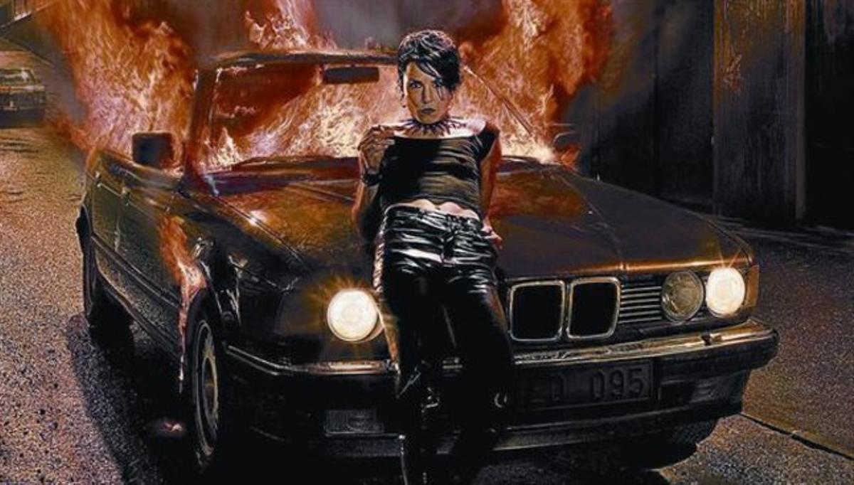 La actriz Noomi Rapace, en su papel de Lisbeth Salander, en la versión sueca de la adaptación al cine de la saga 'Millennium'.
