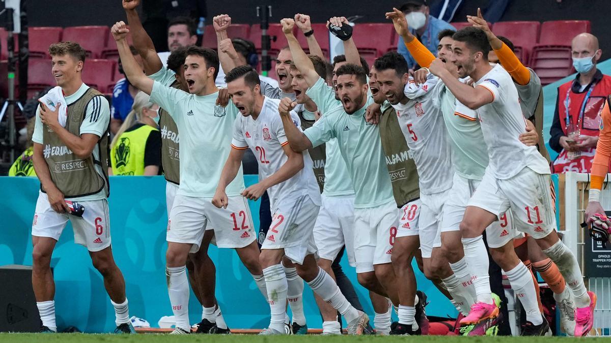 Eurocopa: España vs Croacia, resumen del partido