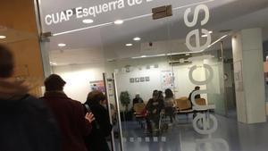 Las urgencias sanitariasdurante la gripe del 2018.