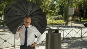 Javier Gutiérrez, en una imagen de la serie de Movistar+ 'Vergüenza'.