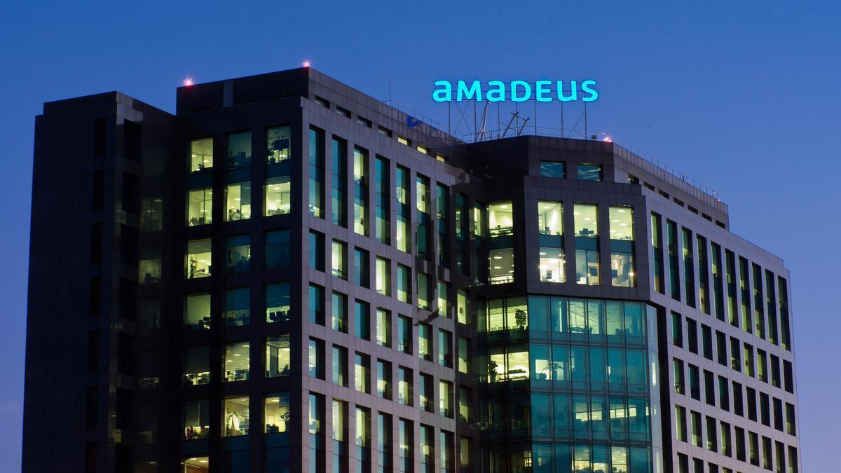 Edificio de Amadeus en Madrid.