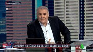 Antonio García Ferreras en el especial 'Al rojo vivo: Objetivo La Casa Blanca'.