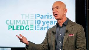 El propietario de Amazon, Jeff Bezos.