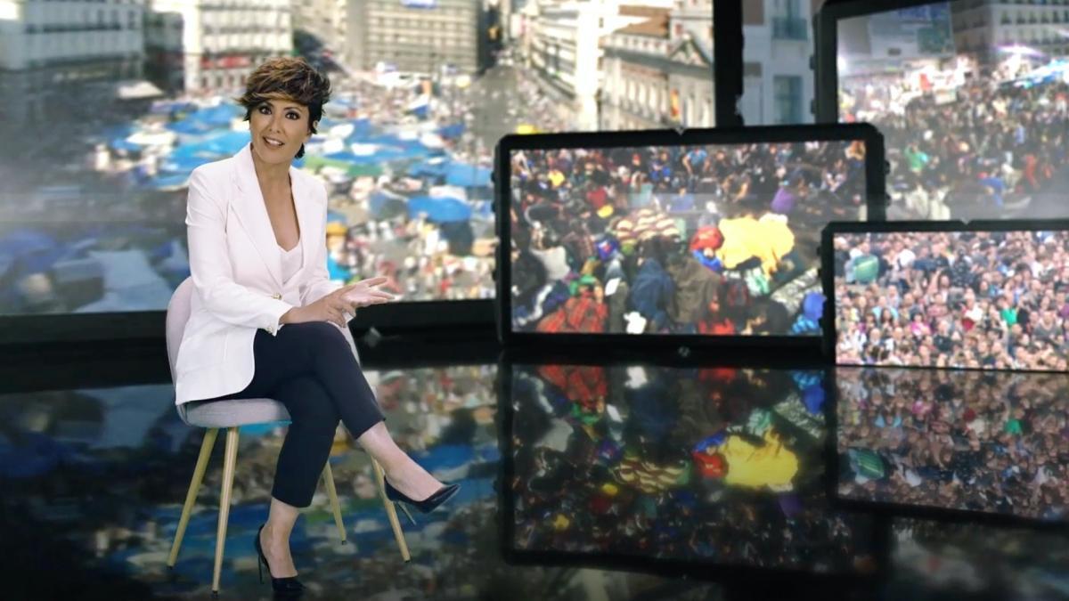 Sonsoles Ónega, presentadora de los especiales de '15M: ¿Generación Perdida?'