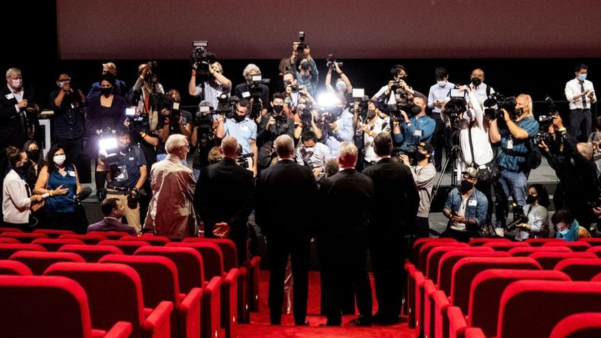 Un instante de una entrega de los premios Óscar.