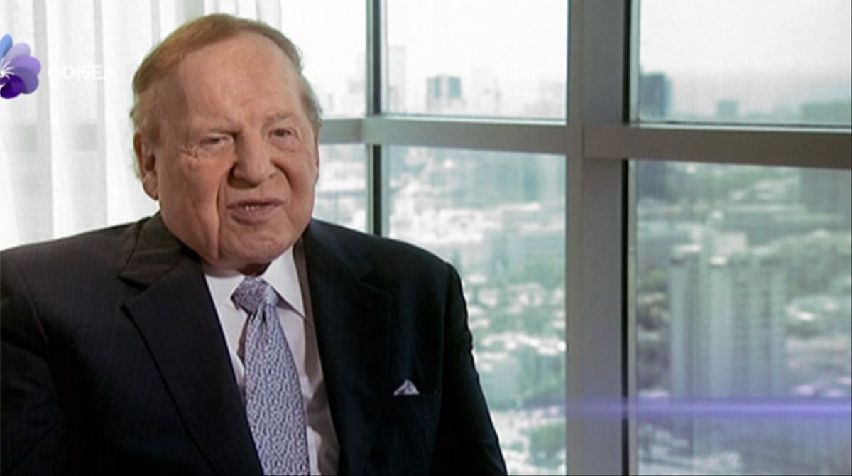 Muere el magnate Sheldon Adelson