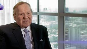El magnate de los casinos Sheldon Adelson.