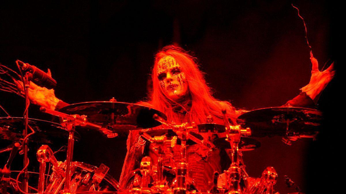 El cofundador de Slipknot Joey Jordison.