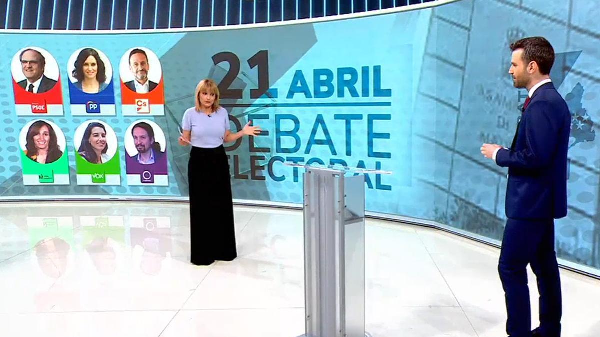 RTVE y laSexta emitirán el debate de Telemadrid entre los seis candidatos al 4-M
