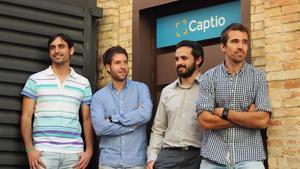 El equipo de Captio.