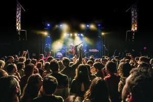 El grupo Mishima, durante un concierto reciente en Apolo.