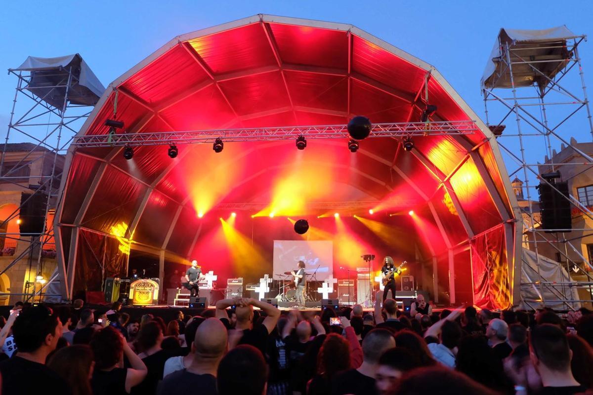 Imagen de una edición anterior de este festival rockero.