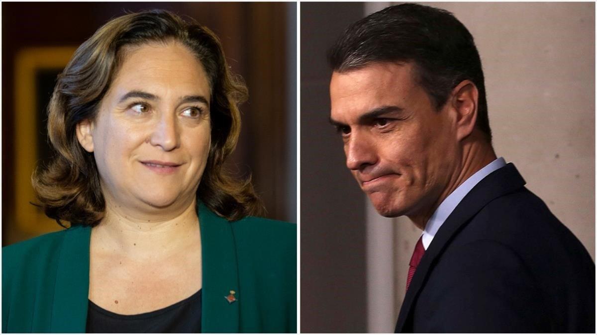 Colau demana a Sánchez un pacte d'Estat per la vivenda