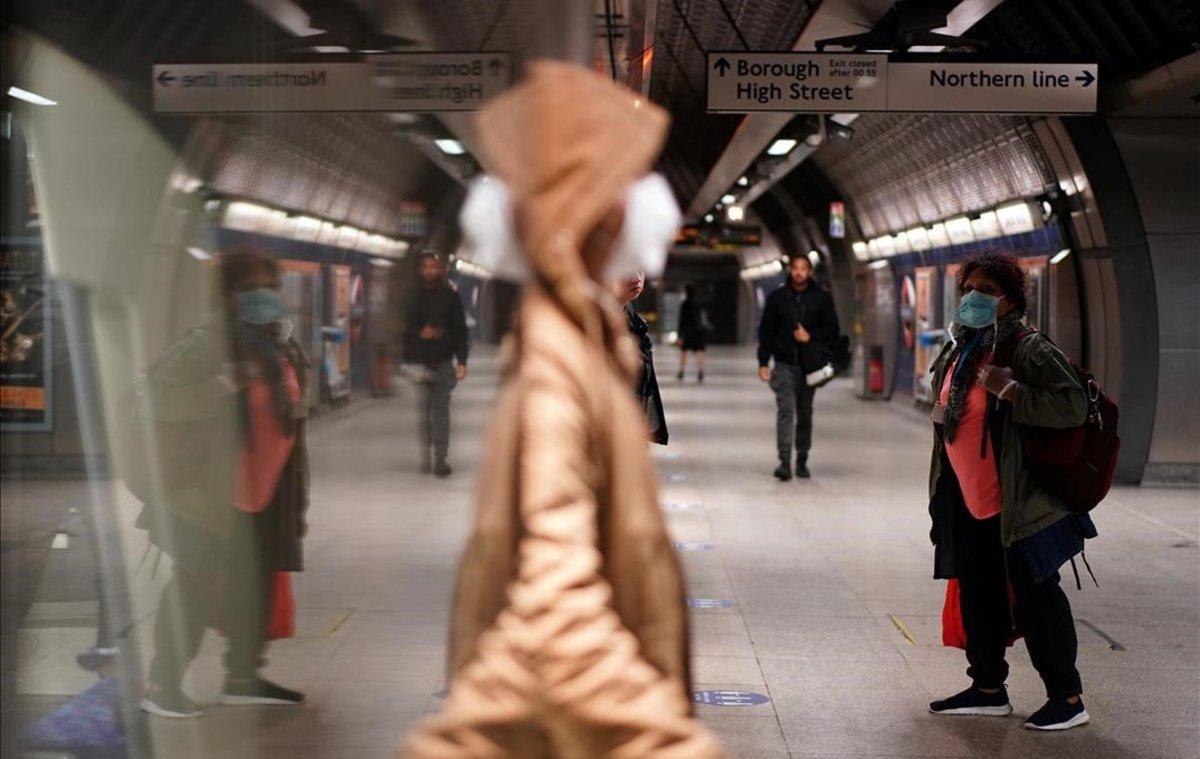 La estación de metro de London Bridge.