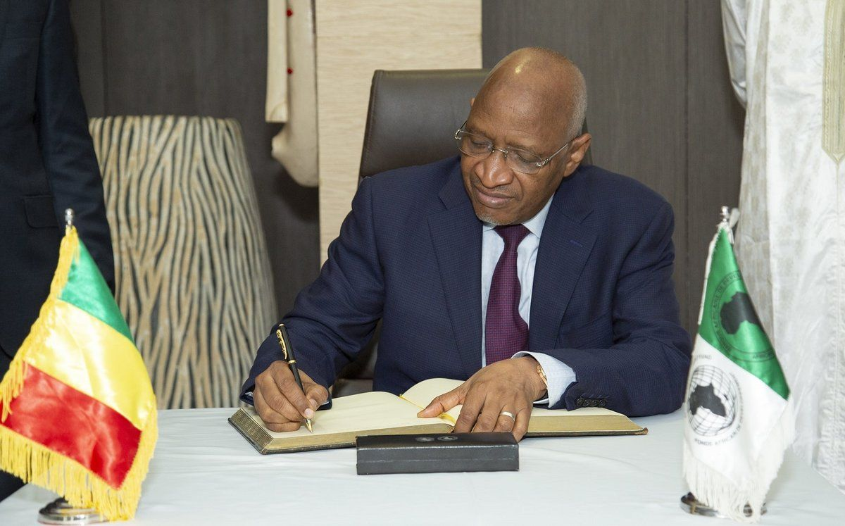Primer ministro de Mali, Soumeylou Boubèye Maïga.