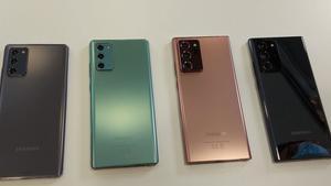 Samsung presenta la sèrie Note20 al costat de quatre nous dispositius