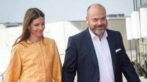 El multimillonario danés Anders Holch Povlsen, y su mujer, Anne, en una imagen de mayo del 2018.
