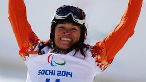 La snowboarder neerlandesa Bibian Mentel-Spee.