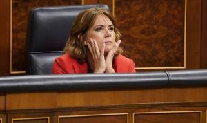 La fiscal general del Estado, Dolores Delgado,en el Congreso de los Diputados.