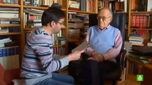 Entrevista a Santiago Carrillo por Jordi Évole en el programa 'Salvados' de 6 de marzo de 2011.