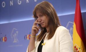 Laura Borràs (JxCat): «Per ser independentista l'Estat assenyala, apunta, dispara»