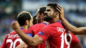 Diego Costa: Ya nos tocaba ganar una final al Real Madrid.