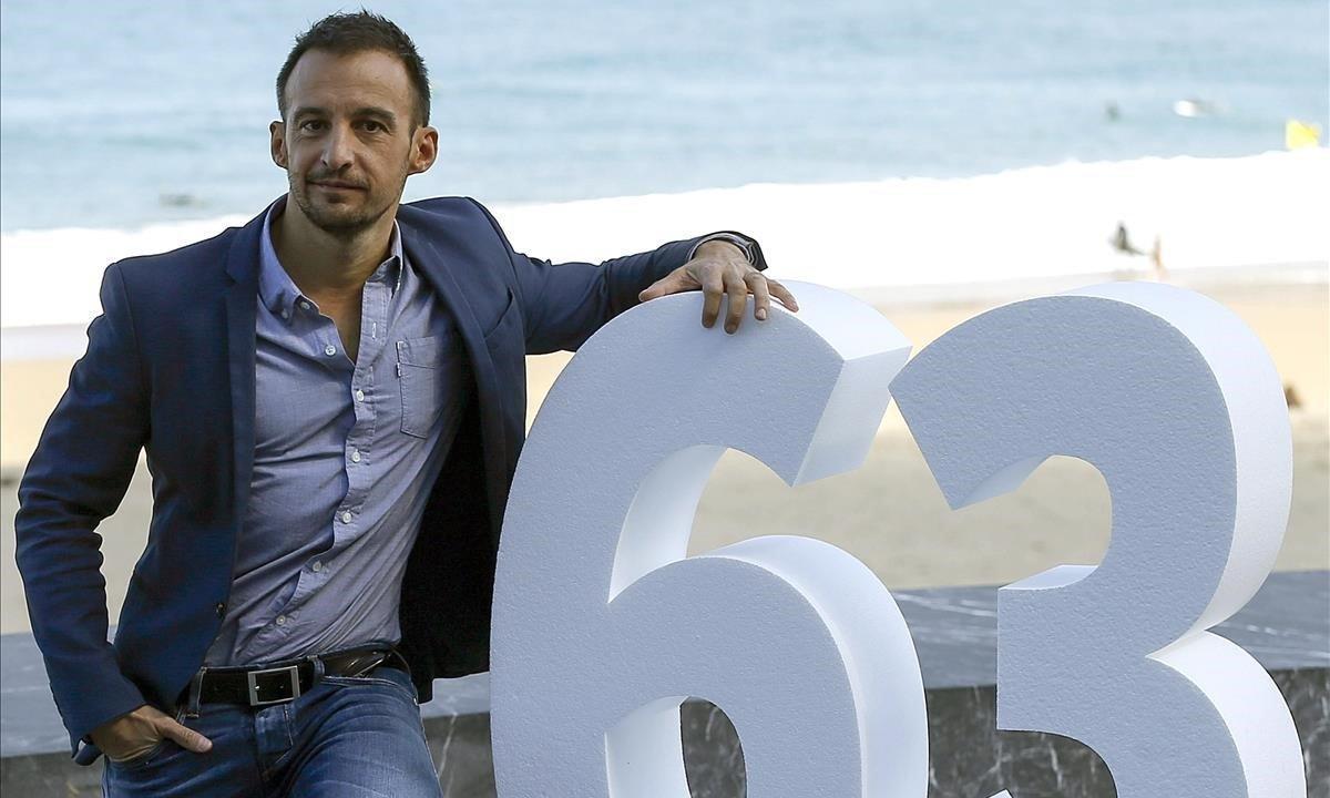 Imagen de archivo de Alejandro Amenábar, en la 63ª edición del Festival de cine de San Sebastián, en septiembre del 2015.