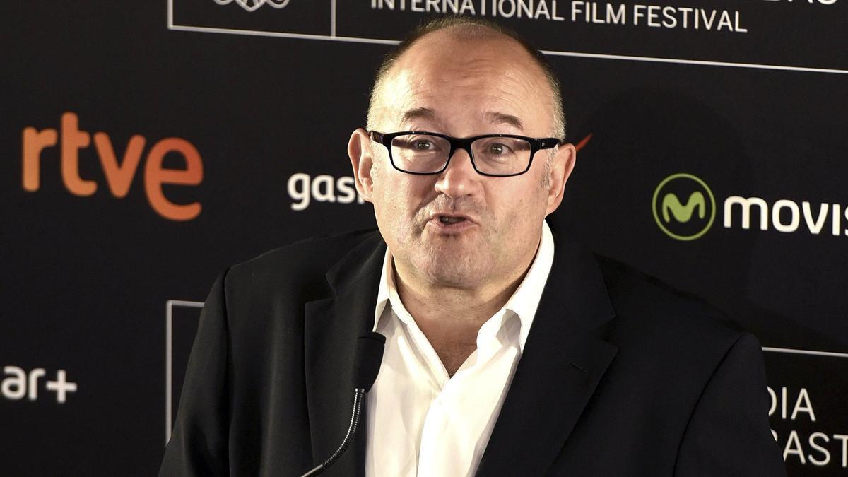 El director del Festival de San Sebastián, José Luis Rebordinos