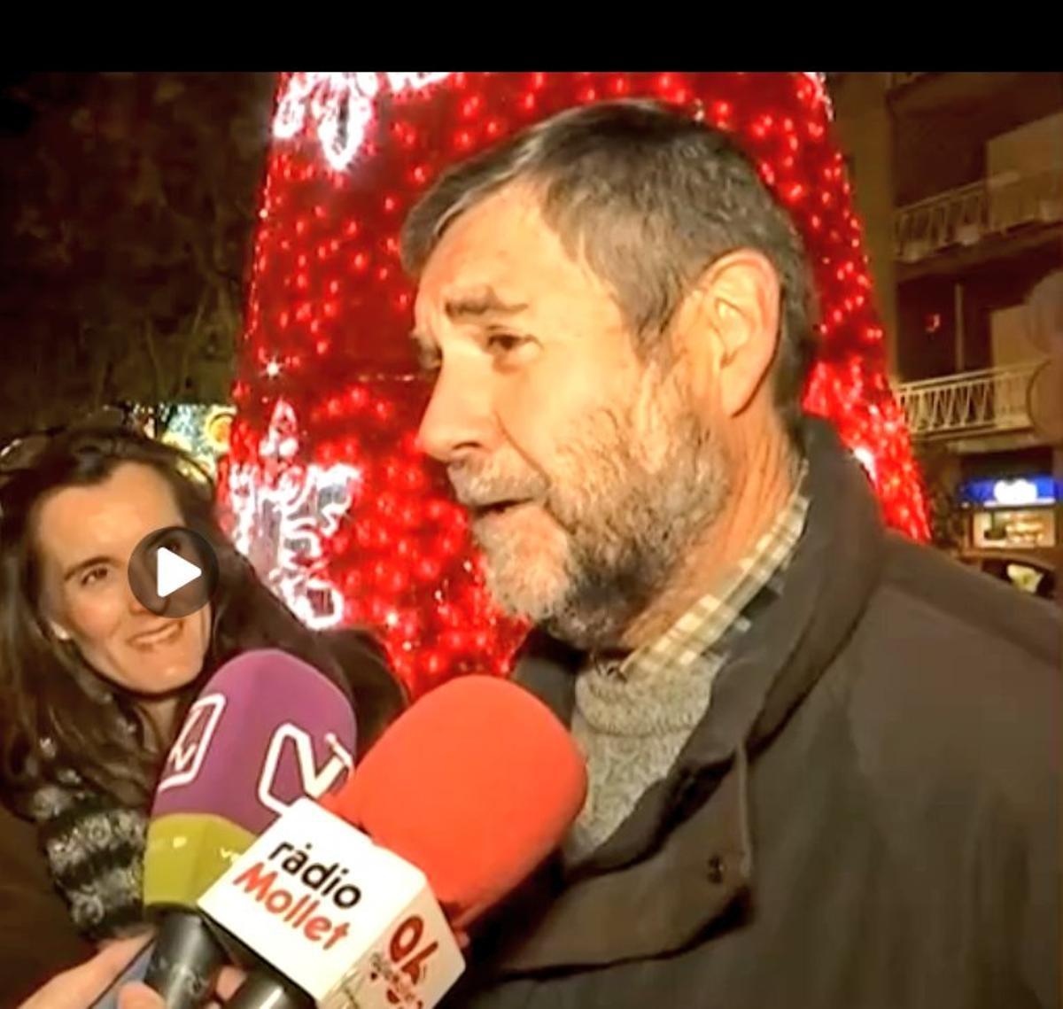 El nuevo Síndic Persones de Mollet del Vallès, el farmacéutico Salvador Rovirosa.