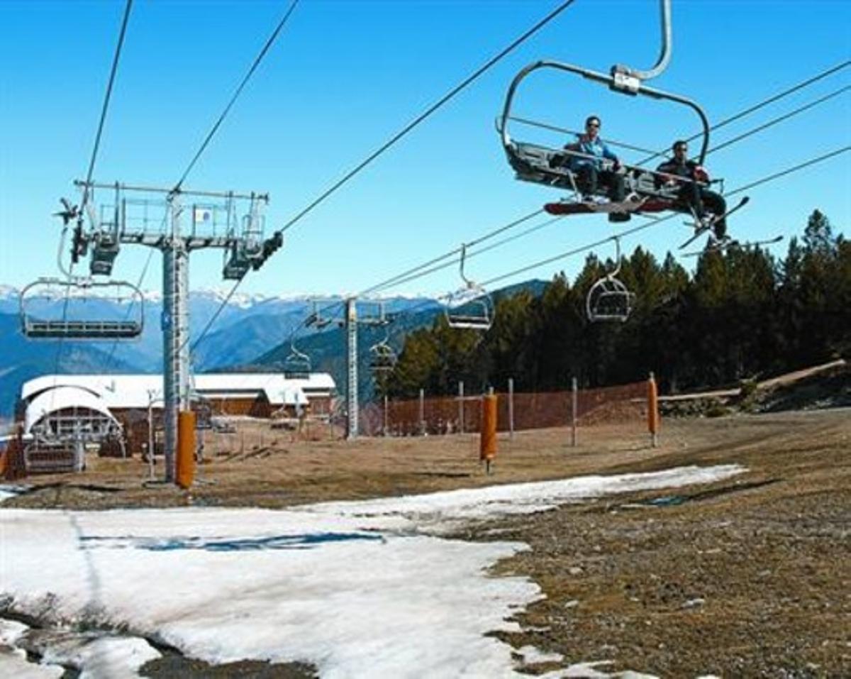 Menos frío 8La estación de esquí de Port Ainé, el pasado 23 de mayo.