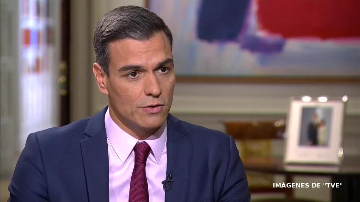 En una entrevista en TVE, Sánchez ha considerado que el 28 de abril debería servir para unir a los españoles y ha insistido en la necesidad de que los partidos sean capaces de hablar entre ellos.