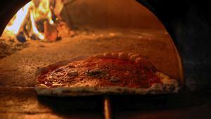 Esta pizza está quemada