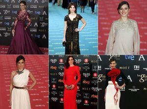 Sis vestits inoblidables que van fer història a l'alfombra vermella dels Goya