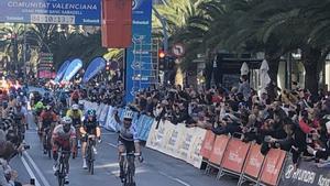 Trentin s'imposa en la segona etapa de la Volta a la Comunitat Valenciana