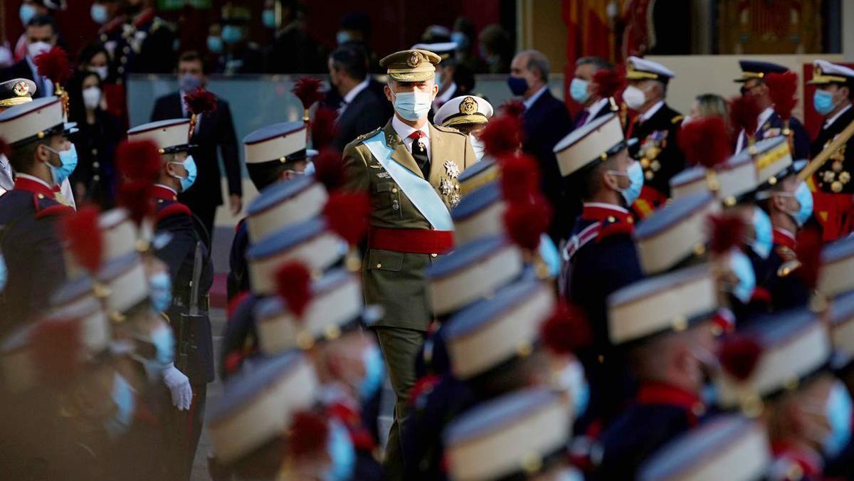 El Estado celebra el 12-O con un desfile postpandemia en Madrid