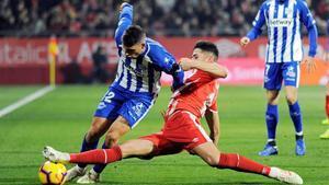 El Girona encadena davant de l'Alabès la sisena jornada sense guanyar