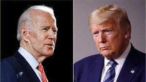 Trump y Biden se cruzan acusaciones por los disturbios raciales en EE.UU,