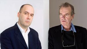 Tibor Fischer y Martin Amis.