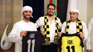 Los nuevos propietarios del Beitar Jerusalén.