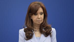 La vicepresidenta argentina, Cristina Fernández de Kirchener, en una imagen de archivo.