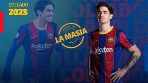 El anuncio de la renovación de Collado por el Barça.