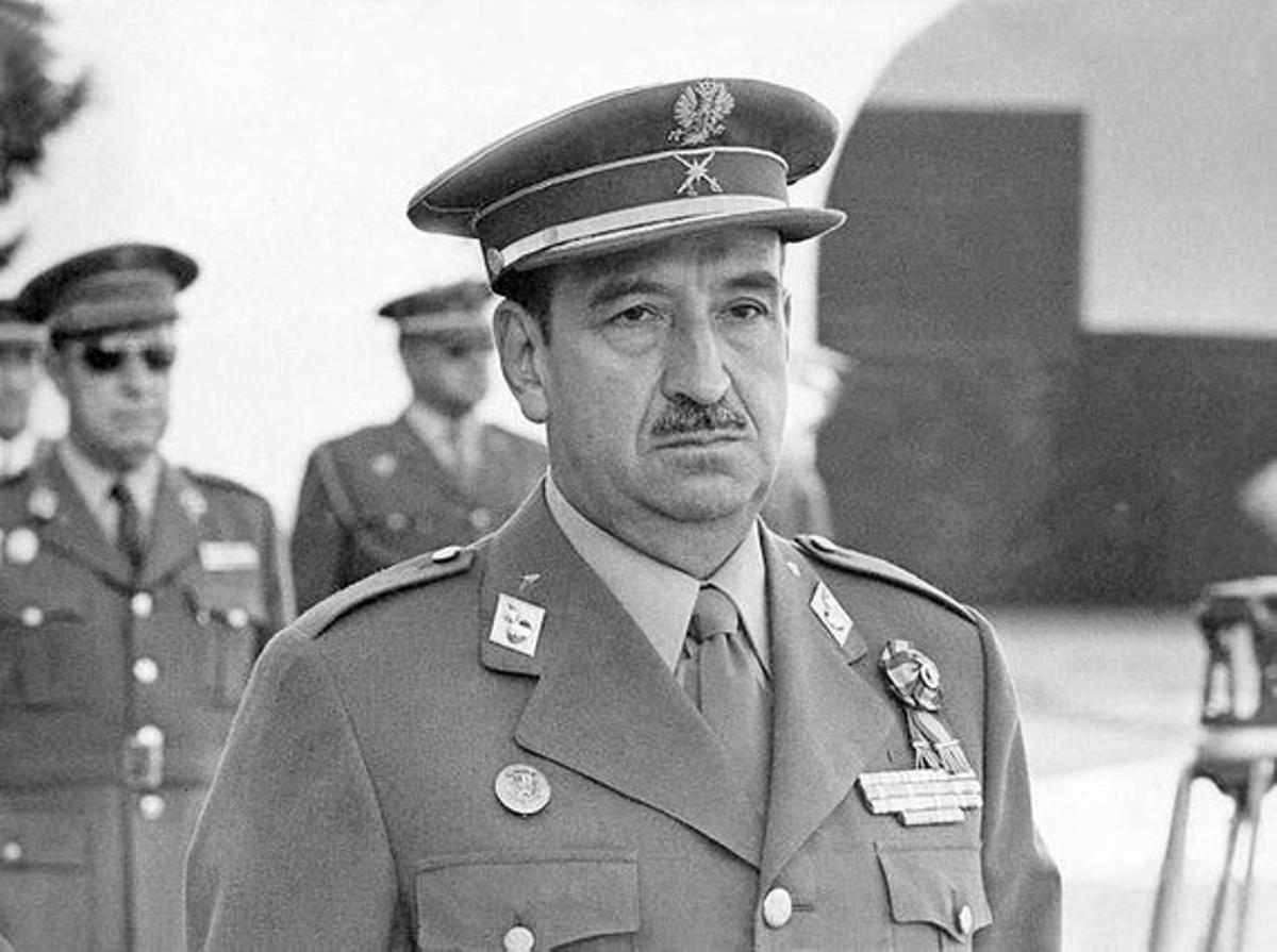 El general Alfonso Armada, en una imagen de archivo.