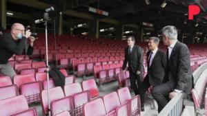MakingOff sesión de fotos de candidatos a la presidencia del F.C. Barcelona