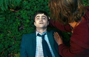 Daniel Radcliffe, en un fotograma de 'Swiss army man', premio del público en el Americana.