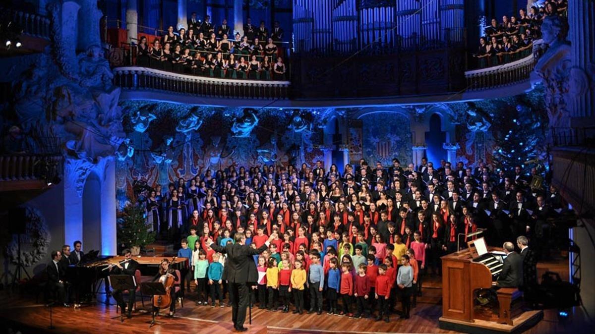 Concierto de Sant Esteve en el Palau, el 2018.