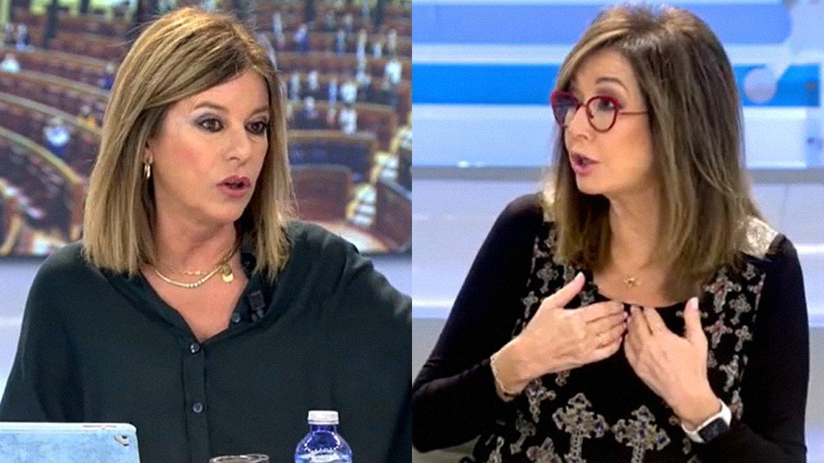 "Ana Rosa se enfrenta a Esther Palomera en su programa: ""¿Me lo vas a explicar a mí?"""