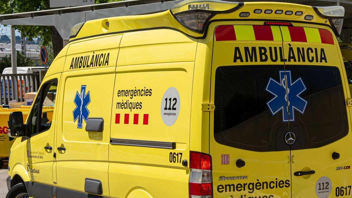 Imagen de recurso de una ambulancia.