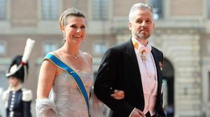 Una imagen de archivo de la princesa Marta Luisa de Noruega y Ari Behn.