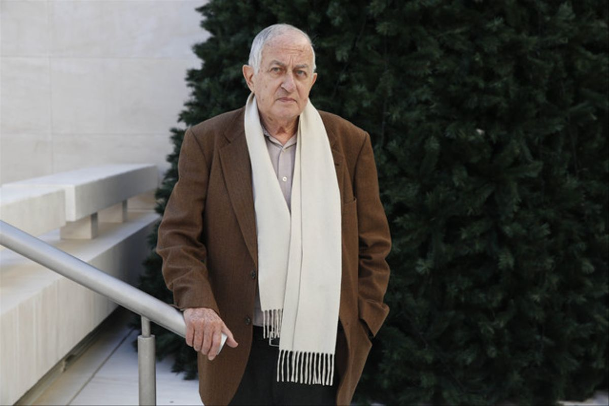 Juan Goytisolo, en Barcelona, en diciembre del 2013.